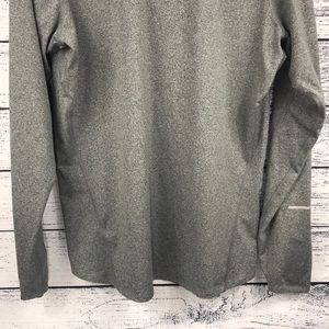 Nike Sweaters - NWOT Nike Grey Dri-Fit 1/4 Zip Up Pullover Running